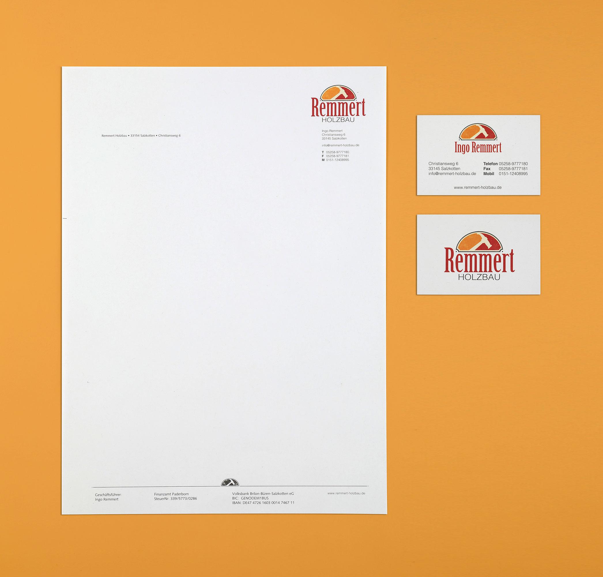 Briefbogen Design