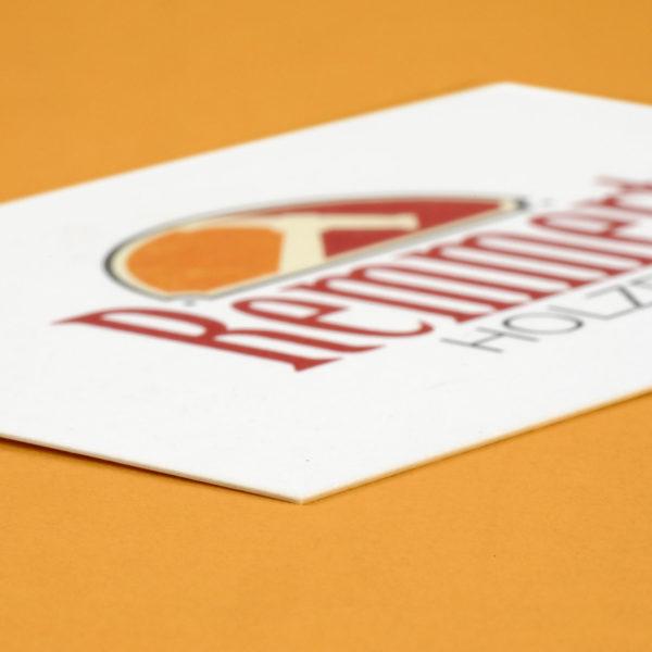 Hüppmeier Marketing und Design GmbH - Referenzen - Visitenkarte Remmert Holzbau - Vorschau