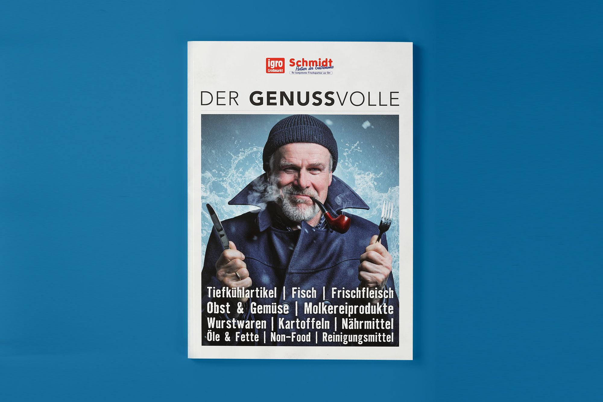 Hüppmeier Marketing und Design GmbH - Referenz - Igro-Schmidt-Katalog Titel Vorschau