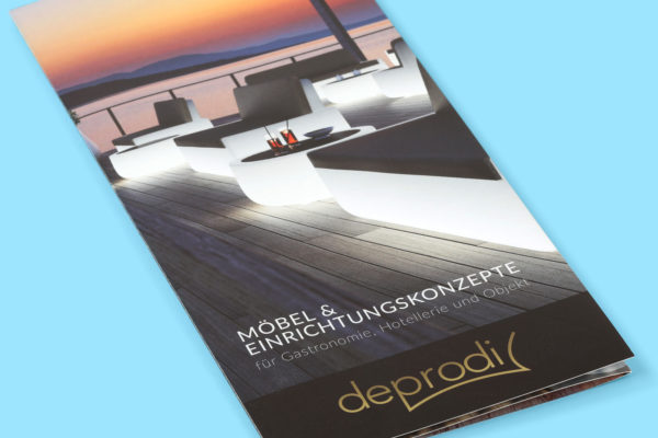 Hüppmeier Marketing und Design GmbH - Referenz - deprodi Flyer Vorschau