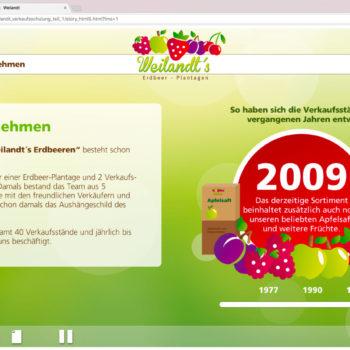 Hüppmeier Marketing und Design GmbH - Referenz - E-Learning - iPad - Weilandt´s Erdbeerplantagen 04