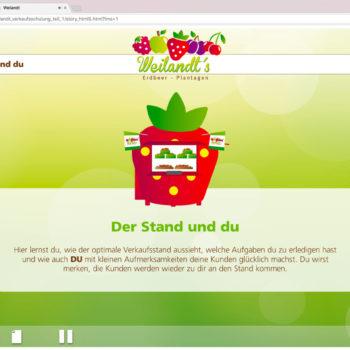 Hüppmeier Marketing und Design GmbH - Referenz - E-Learning - iPad - Weilandt´s Erdbeerplantagen 06