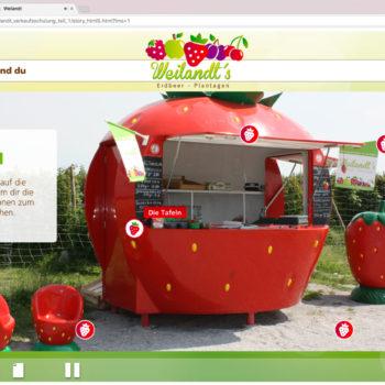 Hüppmeier Marketing und Design GmbH - Referenz - E-Learning - iPad - Weilandt´s Erdbeerplantagen 07