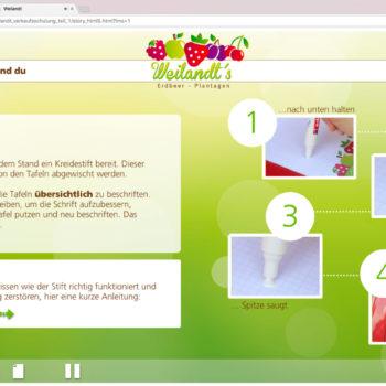 Hüppmeier Marketing und Design GmbH - Referenz - E-Learning - iPad - Weilandt´s Erdbeerplantagen 09