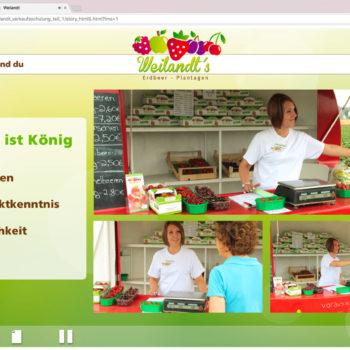 Hüppmeier Marketing und Design GmbH - Referenz - E-Learning - iPad - Weilandt´s Erdbeerplantagen 12