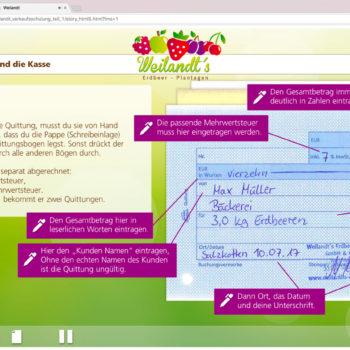 Hüppmeier Marketing und Design GmbH - Referenz - E-Learning - iPad - Weilandt´s Erdbeerplantagen 18
