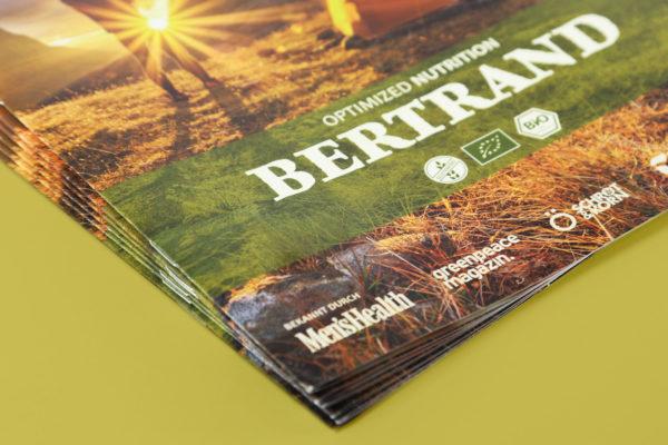 BERTRAND Food GmbH • Broschüren Design