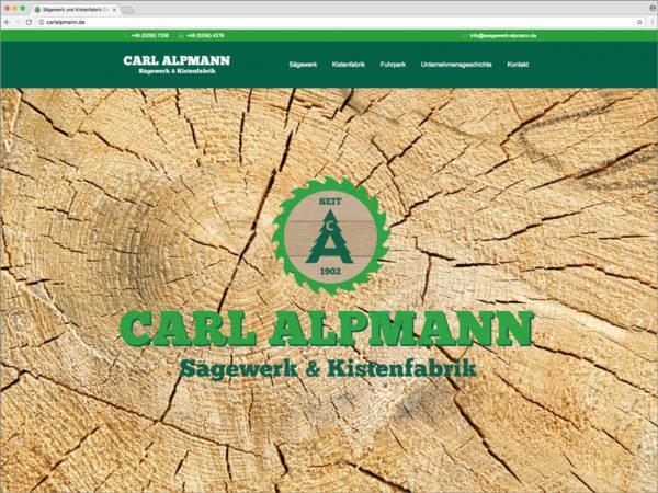 Alpmann • Webdesign